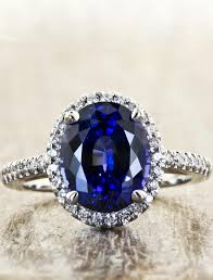sapphire engagement rings camilla oval halo sapphire engagement ring ken design