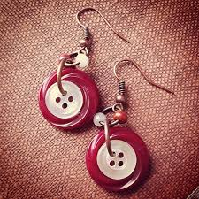 best 25 button earrings ideas on diy earrings buttons