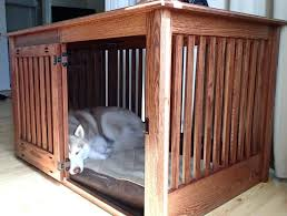 dog kennel side table side table side table dog kennel image of large crate diy side