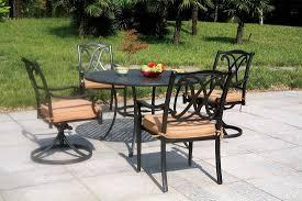 Aluminum Patio Furniture Sets - cast aluminum patio furniture sets u2014 harte design cast aluminum