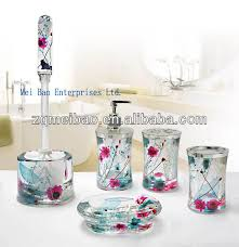 Acrylic Bathroom Accessories by Double Wall Acrylic Plastic Bathroom Accessories Set Liquid Soap
