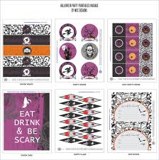 free halloween party printables from wcc designs catch my party