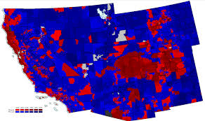 2012 Election Map by 2008 Nationwide Precinct Map Project Mostly Complete