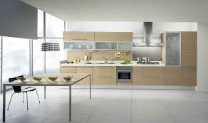 White Tile Backsplash Kitchen White Kitchen Cabinet Black Metal Gas Range Top Shine Aluminium Ex