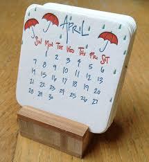 mini desk calendar 2017 36 best art calendars images on pinterest calendar design