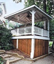 25 best backyard storage ideas images on pinterest decking fence