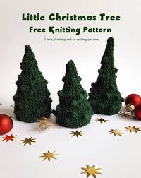 knitting and so on o christmas tree