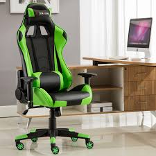 Lift Chair Leather Computer Racing Gaming Sports Lift Chair Executive Recliner Faux