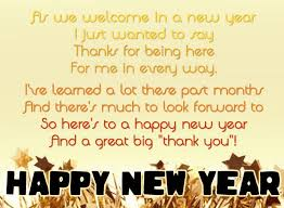happy new year poems 2018 happy new year 2018