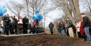 at memorial dedication family of slain toddler recalls smiling