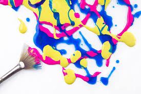paint splatter photograph by diane diederich