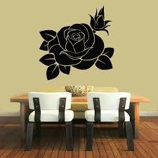 wall vinyl sticker decals art mural decor rose flower floral wall vinyl sticker decals art mural decor rose flower floral design 32709103118 ru
