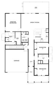 House Plans For Patio Homes Birch U2013 New Home Floor Plan In Trailside Patio Homes By Kb Home