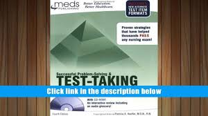 free download successful problem solving test taking for