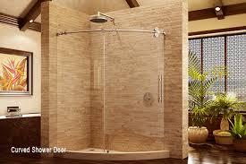 Curved Shower Doors Types Of Glass Shower Doors Binswanger Glass