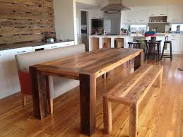 Dining Room Table Bench Furniture Sweet Innovative Solid Wood Dining Table Bench Awesome