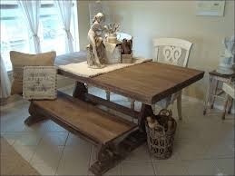 kitchen farmhouse table and chairs farmhouse table with bench