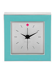 kate spade desk clock kate spade new york cross pointe clock turquoise belk