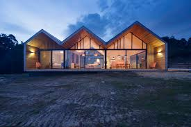 night view of the lookout house in tasmania dwell one a kind glass