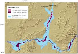 Arizona Elevation Map by Usgs Ofr 2009 1150 Surficial Geology Of The Floor Of Lake Mead