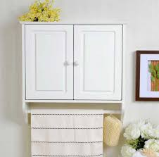 Bathroom Storage Cabinets Wall Mount Bathroom Cabinets With Towel Rack Interior Design