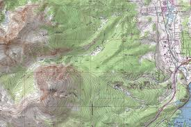 Colorado County Map by Custom Topographic Maps Lake County Summit County Colorado