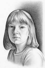 gallery easy portrait drawn with pencil drawings art gallery