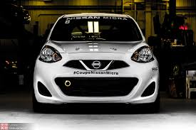 nissan race car how a nissan micra cup racecar is built for 20 000