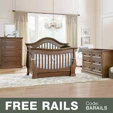 5 In 1 Convertible Crib by Baby Appleseed Davenport 3 Piece Nursery Set 3 In 1 Convertible