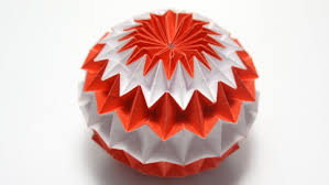 cara membuat origami kusudama origami magic ball dragon s egg by yuri shumakov youtube