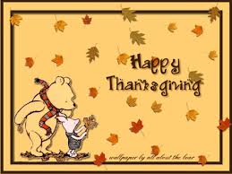 winnie the pooh thanksgiving wallpaper wallpapersafari