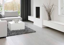white and grey fumed wood floors of light wood or