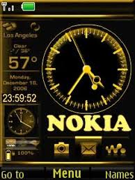 theme clock free nokia 7230 nokia clock software in themes