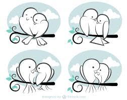 cartoon cute bird material free vector 123freevectors