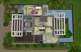 modern mansion floor plans home design modern house floor plans sims 4 shabbychic style