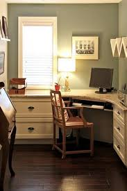 Corner Home Office Furniture 30 Corner Office Designs And Space Saving Furniture Placement Ideas