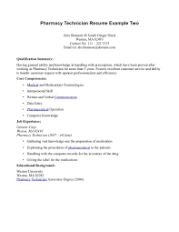 pharmacy technician resume template resume exle simple resume sle for pharmacy technician with
