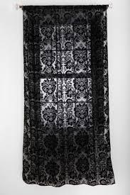 gorgeous black lace curtain home decor curtains pinterest