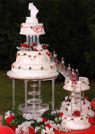 wedding cakes with fountains unique design wedding cakes with fountains dazzling ideas 60