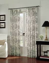 well appointed curtains doors window and room