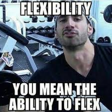 What Is Meme Mean - flexibility you mean the ability to flex funny meme picture aaron