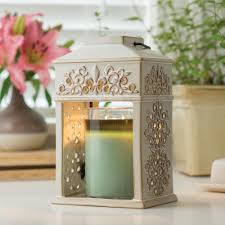 candle warmers etc 12 in fleur de lis ceramic candle warmer