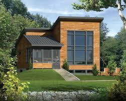modele de jardin moderne w1703 micro maison contemporaine à étage 2 chambres patio à l