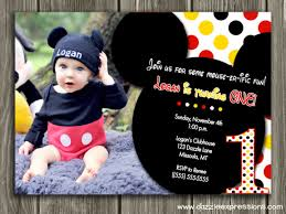 mickey mouse thank you cards mickey mouse 1st birthday thank you cards printable mickey mouse