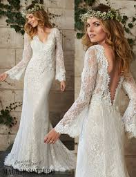alluring ivory bohemian wedding dress collection weddings eve