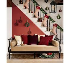 Banister Christmas Ideas Be Different Act Normal Hanging Your Stockings Without A Mantel
