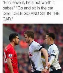 Funny Tottenham Memes - spurs star dele alli shares funny joke about his eric dier s
