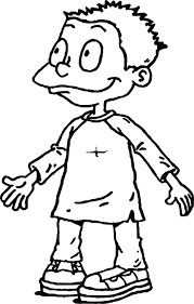rugrats tommy pickles rugrats all grown up coloring page wecoloringpage