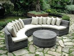 Curved Patio Sofa Curved Outdoor Seating Creative Of Curved Modular Outdoor Seating