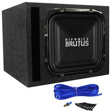 use car subwoofer in home theater hifonics brz12sqd4 12